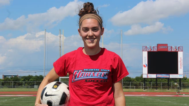 Wilmington native Kortney Rhoades will take over a Delaware State program that went 8-9-3 in 2015.