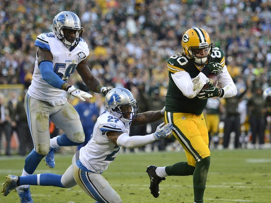 Green Bay Packers tight end Justin Perillo is earning