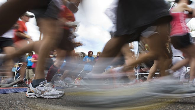 Runners will take to the streets in Phoenix and only Phoenix during the Nov. 29 Phoenix Rising Marathon. The marathon, a half marathon and a 5K run are planned, starting at US Airways Center and finishing at Chase Field.