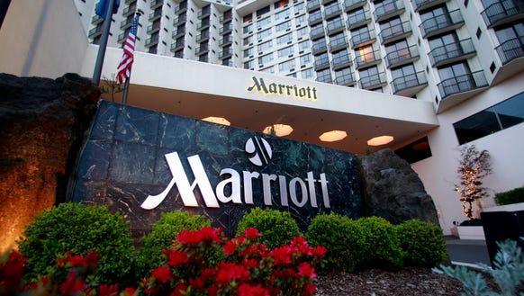 Marriott Hotels Portland Oregon
