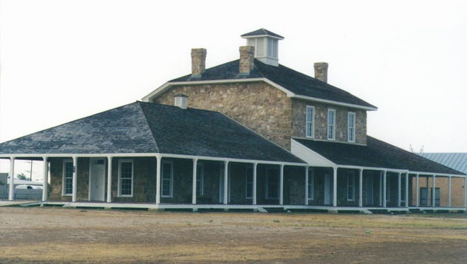 The Hospital at Historic Fort Concho in San Angelo.