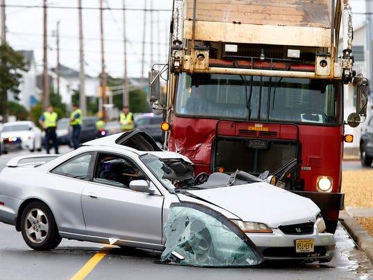 Lavallette garbage truck accident