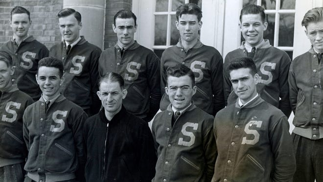 The Staatsburg football team was undefeated in the Hudson Valley division of the Scholastic league in March 1940.
