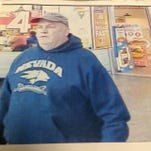 Reno Police are seeking this man in an attempted bank robbery Friday.