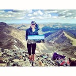 Woman to paint all CO 14ers at summit