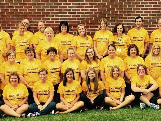 In 2016, Koenig Elementary was named New WI Promise School. Pictured is the staff at Koenig.