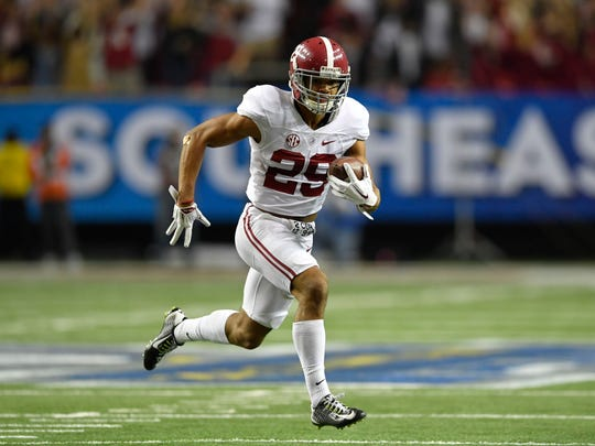 Minkah Fitzpatrick, defensive back, Alabama