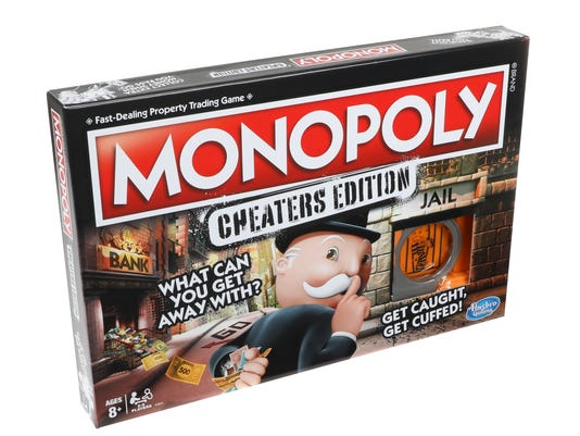 Monopoly Cheaters Edition The New Game For Rule Breakers