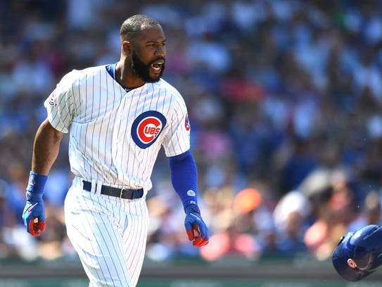 Jason Heyward's production has plummeted in his first