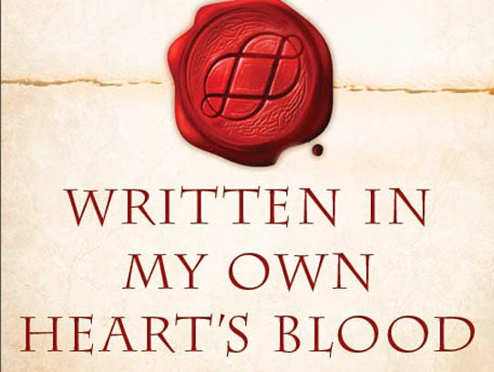 """""""Written In My Own Heart's Blood"""" is the eighth novel"""