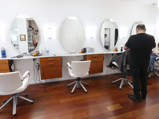 Numi Salon on Purchase Street in Rye on Wednesday,
