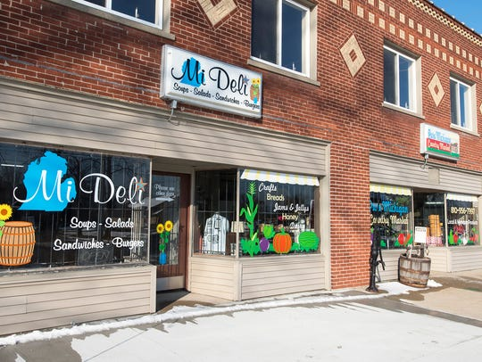 Mi Deli recently opened next to the Pure Michigan Country