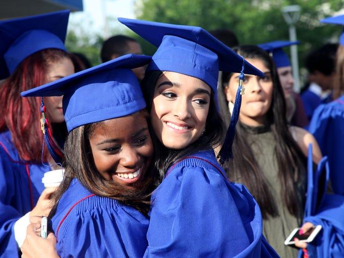 Riverside High School held their graduation ceremony