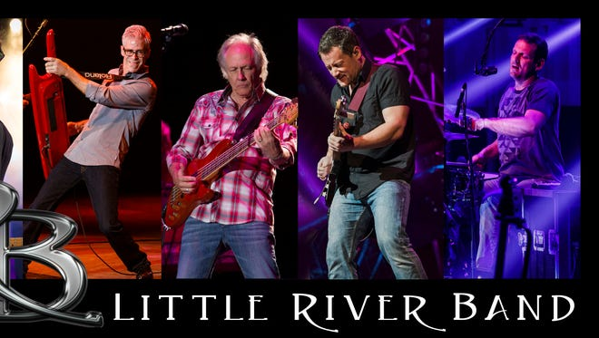 The Little River Band will perform June 1 at the Ashwaubenon Performing Arts Center.