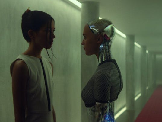 'Ex Machina' star, director discuss their thoughtful film