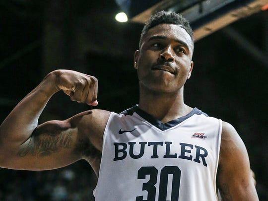Kelan Martin hopes to hear his name called during Thursday's NBA draft.