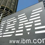 IBM is slated to report earnings Monday, April 16, 2016.