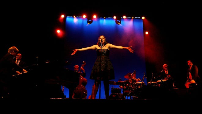 SYDNEY, AUSTRALIA - JANUARY 06:  Pink Martini performs on stage at the State Theatre during the 2008 Sydney Festival  on January 6, 2008 in Sydney, Australia. For three weeks each January, the Sydney Festival offers a rich program of around 80 events involving upwards of 500 artists from Australia and abroad.  (Photo by Lisa Maree Williams/Getty Images)
