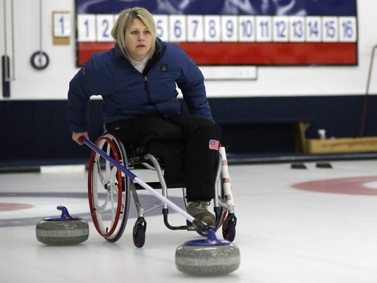 Paralympian curler and Green Bay native Penny Greely is expected to attend the Winter Games at Titletown on Feb. 16-17.