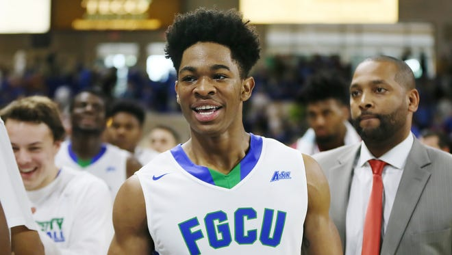 Florida Gulf Coast University rising junior forward Rayjon Tucker has been released from his scholarship, men's basketball head coach Joe Dooley announced Friday.