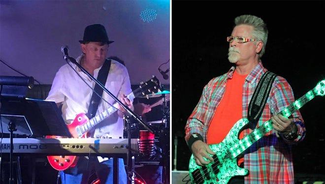 """Jon """"JY"""" Youngblood - keyboard, guitar, vocals, and John """"PRKNBNZ"""" (pork n beans) Hall – bass, vocals"""