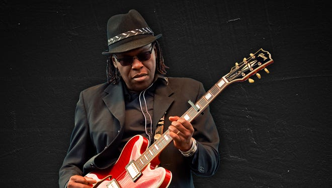 Joe Louis Walker plays the Capitol Oyster Bar on Sunday, March 18, 2018.