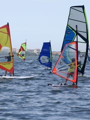 Camp Windspark combines windsurfing instruction with