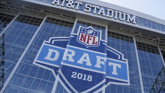 The 2018 NFL draft is taking place at AT&T Stadium in Arlington, Texas.
