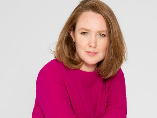 Author Paula Hawkins.
