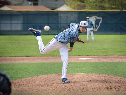It's business as usual at Livonia Stevenson for pitchers such as Josh Marquedant. The staff is paid close attention to by head coach Rick Berryman to make sure their arms are not pushed beyond the limit.