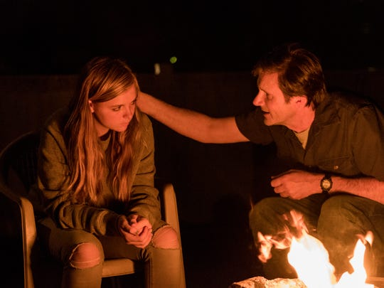 Elsie Fisher and Josh Hamilton play daughter and father