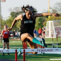 Adams, Crump lead Wauwatosa West girls track to Woodland Conference Outdoor title