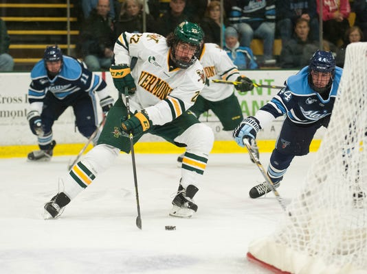 Maine vs. Vermont Men's hockey 11/07/14