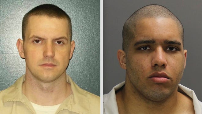 Denver Simmons and Jacob Philip. Photos provided by the South Carolina Department of Corrections.