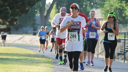 Numerous runners competed in the 2016 Alien Chase run in Roswell. Pre-registration ends June 30.