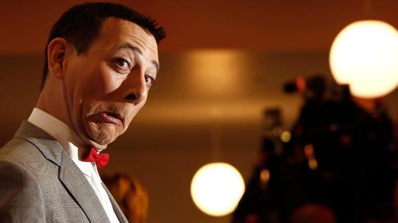 Paul Reubens will bring his Pee-Wee Herman character