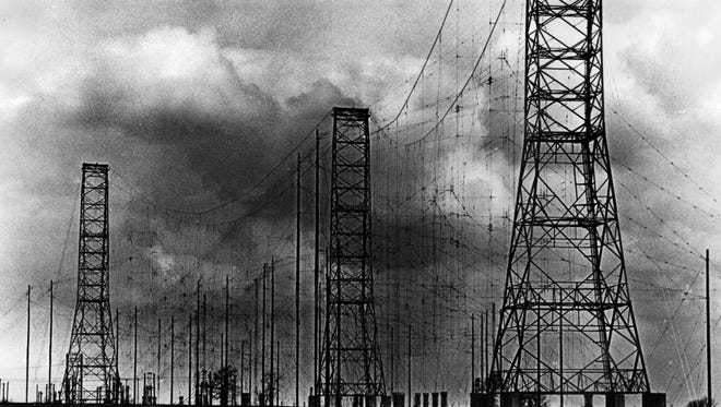 The VOA transmitters in West Chester just off Interstate 75 started broadcasting to the world in 1944.