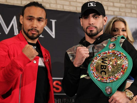 With Angel on his shoulder, welterweight champ Danny Garcia rises to boxing's pinnacle