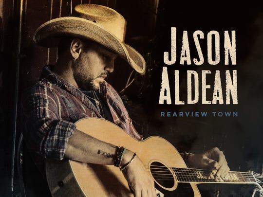 "Jason Aldean's eighth studio album, ""REARVIEW TOWN,"""