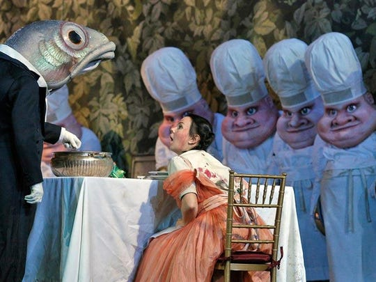 "Guess who's coming to dinner. Take a strange trip into the culinary world when The Metropolitan Opera in Manhattan broadcasts its version of composer Engelbert Humperdinck's take on the Grimms Brothers' fairy tale ""Hansel and Gretel"" at 12:55 p.m. Saturday at The Movies at Governor's Square. It runs two hours. Tickets are $16.13. Visit www.fandango.com."