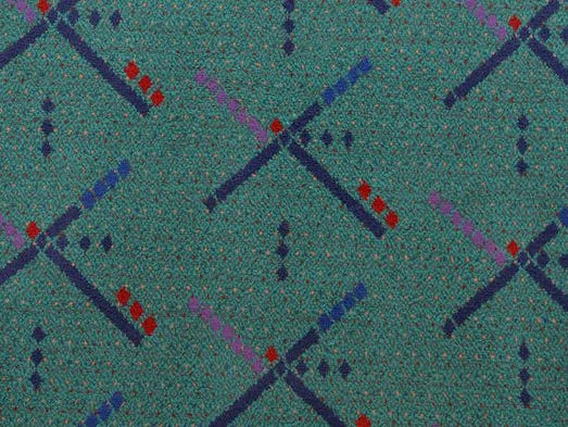 A sample of the current carpet pattern at Portland