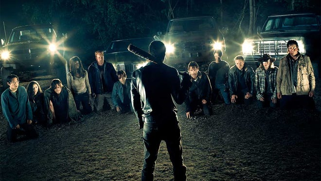 """The cast of AMC's hit drama """"The Walking Dead"""" will be less in number come Sunday."""