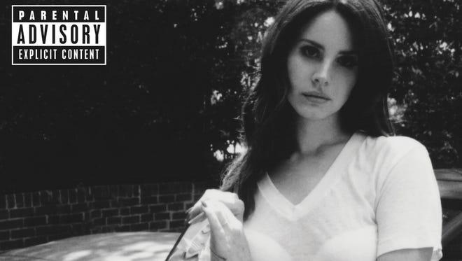 "The album cover for Lana Del Rey's ""Ultraviolence."""