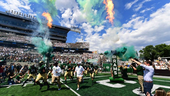 CSU's football team takes the field for its first game