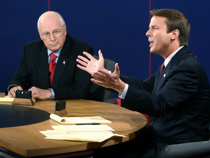 the coverage of the vice presidential debate of year 2000 Presidential debate no 1 will be  some nbc and fox affiliates aired the first george w bush–al gore 2000 presidential debate on tape  year: network:.