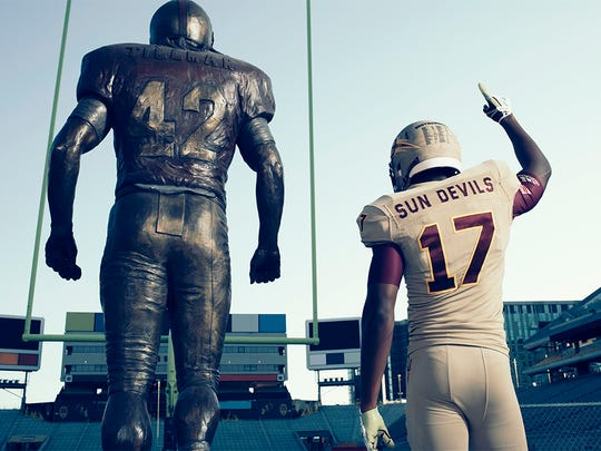 ASU and adidas have unveiled the Sun Devil 'Brotherhood' uniforms for the game against Colorado.
