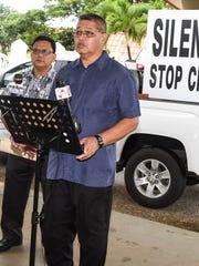 Joe Santos, Silent No More movement founder, speaks