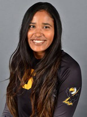 Maria Garcia Bustos, a native of Cartagena, Colombia, signed with Minnesota Crookston volleyball on Wednesday.