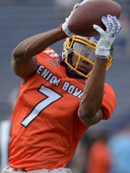 Zay Jones was one of the stars during Senior Bowl week,