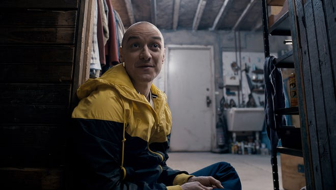 Little Hedwig is one of the many personas of Kevin (James McAvoy) in 'Split.'